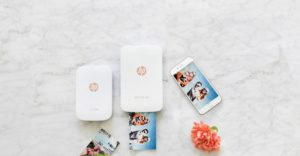 Temps d'impression hp sprocket plus