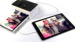 Branchement mobile kodak photo printer dock