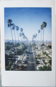Photo Instax rue Los Angeles